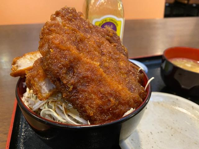 明治亭ソースカツ丼