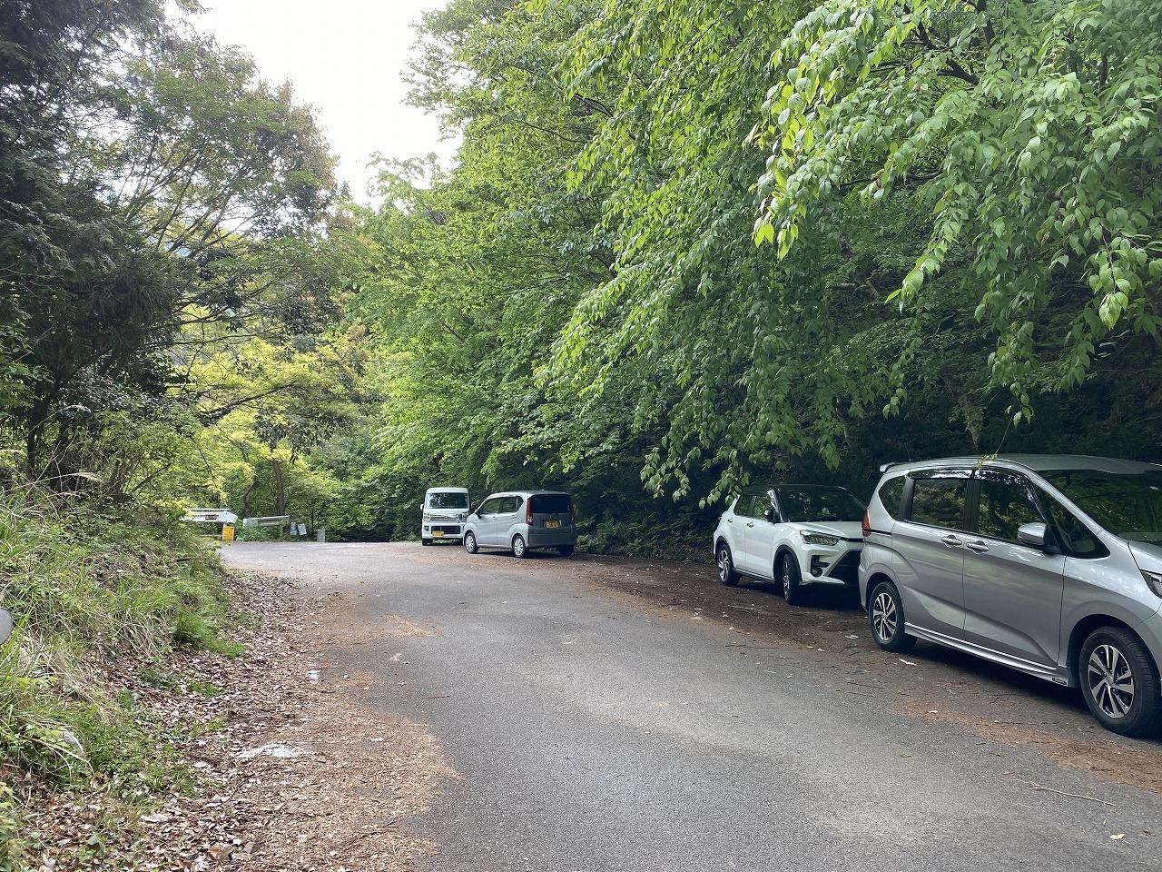 岩ケ谷林道